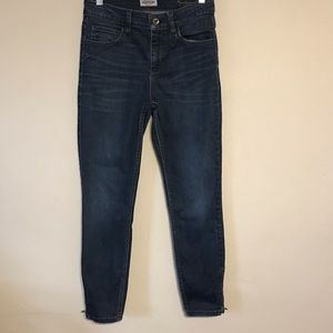 GUESS Marilyn 3 Zip Jeans Hi-Rise Size 27